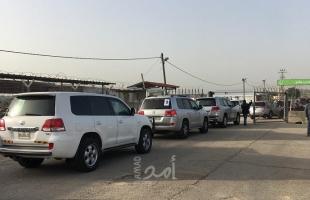 بالصور.. وصول وفد سفراء الاتحاد الأوروبي إلى غزة
