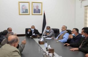 قلقيلية: اجتماع لتنظيم عمل قطاع المياه جنوبي المحافظة