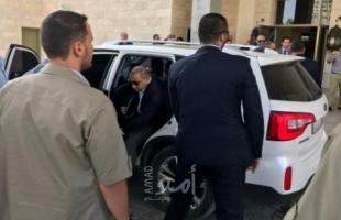 """الوفد المصري يصل قطاع غزة..ومصدر لـ """"امد"""" سيمكث 3 ساعات"""