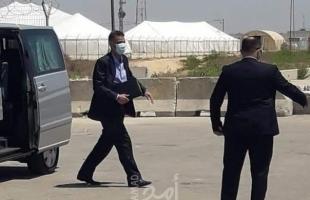 وفد من الخارجية المصرية يصل قطاع غزة عبر معبر رفح