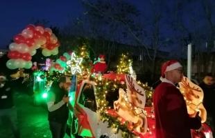 سلطات الاحتلال تقمع قافلة التجمع الوطني المسيحي بمناسبة عيد الميلاد - فيديو