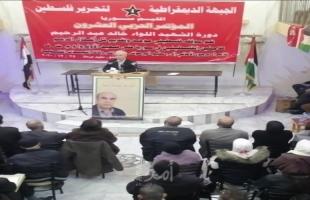 سليمان: التطبيع العربي تجاوز سياقه ويدعو لوقف استئناف المفاوضات