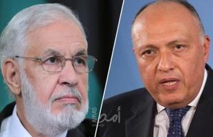 الأول منذ سنوات .. اتصال هاتفي بين وزير خارجية مصر  ونظيره في حكومة السراج الليبية