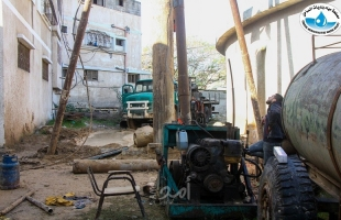مصلحة مياه بلديات الساحل تبدأ بتنفيذ مشروع حفر بئر مياه في خزان المياه الأرضي الرئيسي في رفح