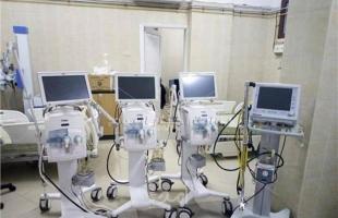 صحة حماس تتسلم أجهزة تنفس صناعي من مؤسسات دولية وأهلية