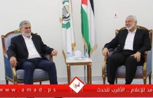 للمرة  الأولى في الدوحة...هنية يستقبل النخالة ويبحثان ملف الانتخابات الفلسطينية