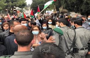 لجنة المتابعة تدين العدوان الإرهابي على المتظاهرين ضد نتنياهو في الناصرة