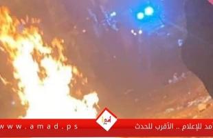 نابلس: (13) إصابة في مواجهات مع قوات الاحتلال