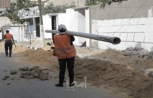 بلدية غزة تنجز صيانة 95 موقعًا في شوارع المدينة