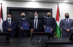 رام الله: الحكومة تطلق مشروع الدفع الالكتروني والخدمات الالكترونية