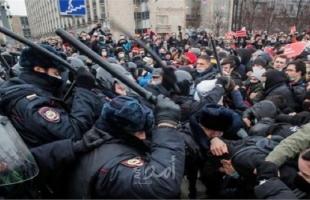 التلفزيون الحكومي الروسي يبث لقطات توثق حضور دبلوماسيين غربيين لمظاهرات أنصار نافالني