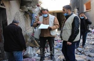 غزة: الأشغال تباشر حصر أضرار انفجار بيت حانون