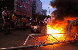لليوم الثاني..إصابات خلال احتجاجات عنيفة في طرابلس شمال لبنان - صور