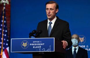 مستشار الأمن القومي الأمريكي سوليفان يناقش مع حولاتا الإسرائيلي التهديد الإيراني