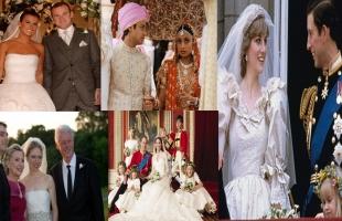 أغلى 5 حفلات زفاف بالعالم