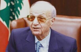 """وفاة النائب اللبناني """"ميشال المر"""" بفايروس """"كورونا"""""""
