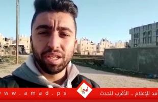 """غرة: """"محمد نصر"""" يهدد باعتصام مفتوح في حال عدم توفير فرص عمل لمواليد الـ(90)- فيديو"""