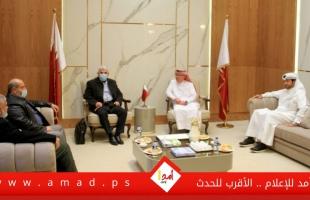 قيادة حماس ناقشت العملية الانتخابية مع العمادي وقدمت شكرها لتميم