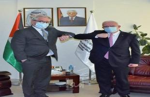المالكي يلتقي وينسلاند ويؤكدان على المواصلةلإطلاق العملية السياسية من خلال الرباعية الدولية