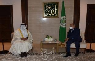 أبو الغيط يستقبل الأمين العام لمجلس التعاون الخليجي ويلتقي وزراء كلٍ من العراق ولبنان