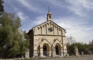 دلياني يكشف عن ثاني اعتداء على الكنيسة الارثوذكسية الرومانية بالقدس على يد نفس الارهابي خلال ثلاثة أيام