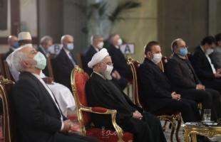 """روحاني يطالب واشنطن بـ""""الخطوة الأولى"""" للعودة إلى الاتفاق النووي - صور"""