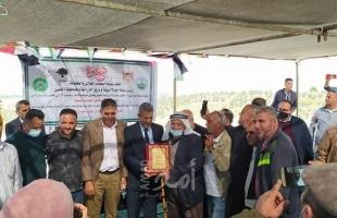 """""""سلطة جودة البيئة وشركائها"""" ينظمون فعالية بيئية لتعزيز صمود المزارعين في المناطق الملوثة بالخليل"""