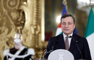 ماريو دراغي يقدم تشكيلة الحكومة الإيطالية الجديدة لرئيس الجمهورية