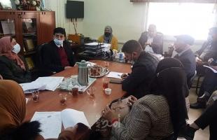 تنمية شمال الخليل تلتقي جمعية اكرام المسنين والمصادر العلائية ينفذ العديد من التدخلات