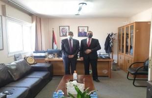 المطور يستقبل السفير الفنزويلي لتعزيز  التعاون المشترك