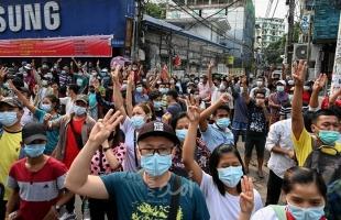 قتلى خلال تفريق المحتجين في ثاني أكبر مدن ميانمار