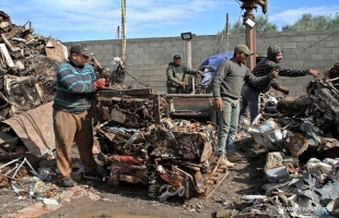 منشآت إعادة تدوير الحديد تستعيد نشاطها في قطاع غزة بعد تعطلها لسنوات