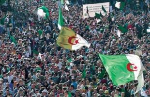 آلاف المتظاهرين يغلقون بعض شوارع العاصمة الجزائرية
