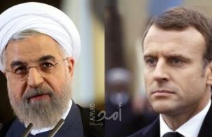 """روحاني لـ""""ماكرون"""": الاتفاق النووي غير قابل لإعادة التفاوض"""