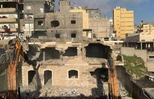 الناصرة: السلطات الإسرائيلية تهدم منزلًا لعائلة النقيب في اللد