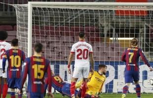 أهداف مباراة برشلونة وغرناطة المثيرة (1-1) في الدوري الإسباني -فيديو