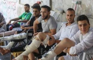 """غزة: لجنة جرحى المسيرات توجه رسالة للمؤسسات الدولية بمنح """"الجرحى"""" حقوقهم كاملة غير منقوصة"""