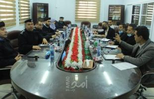 حشد والشرطة بغزة: الاتفاق على سلسلة من التدريبات والأنشطة التوعوية المشتركة