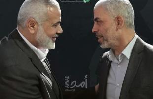 هنية يعلن فوز السنوار  برئاسة حماس في غزة ويقول: تأكيد جدية الذهاب للانتخابات العامة