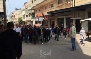 عائلة الصوص تشيع جثمان نجلها وتطالب داخلية حماس بتحمل المسئولية - صور