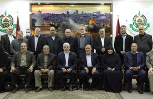 """"""" أمد"""" ينفرد بنشر توزيع دوائر المكتب السياسي لحماس في قطاع غزة - أسماء"""