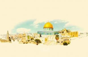 """غزة: """"الشباب والثقافة"""" تطلق مسابقة فنية في رسم القدس للأطفال"""