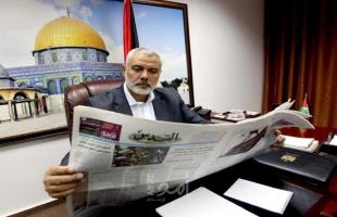 """اسماعيل هنية يكتب لـ""""صحيفة القدس"""": """"قطعنا النهر ولن نلتفت للوراء"""""""