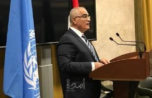 خريشي: يجب أن ينتهي احتلال إسرائيل الاستعماري لدولة فلسطين
