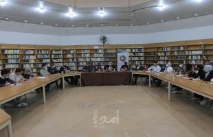 بلدية غزة تبحث مع نُخب شبابية تعزيز مشاركتهم في صنع القرار