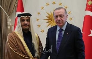 أردوغان يلتقي وزير خارجية قطر في اسطنبول