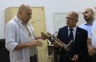 """مركز """"الأطراف الصناعية"""" بغزة: جهود حثيثة لخدمة ذوي الإعاقة وتحسين الخدمة"""