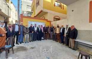 اللجنة الشعبية للاجئين تفتح البئر الثالث لخدمة اللاجئين في المغازي