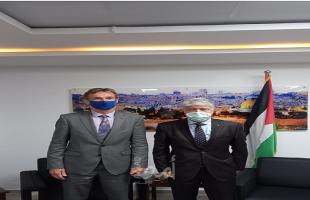 مجدلاني: نتطلع لدور أوروبي أكبر بالضغط على إسرائيل لإجراء الانتخابات في القدس