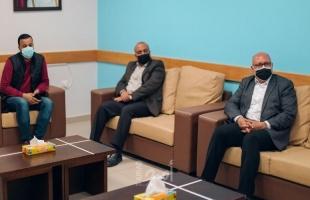 غزة:  مستشفى حمد وبلدية غزة يبحثان تطوير الاتفاقية المشتركة